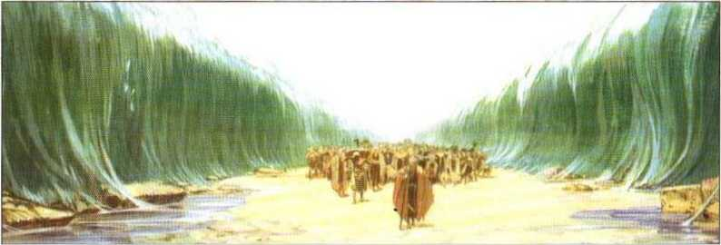 Переход моисея через красное море